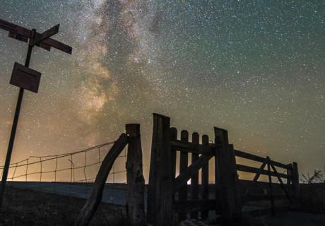 Milchstraße über der Orther Reede